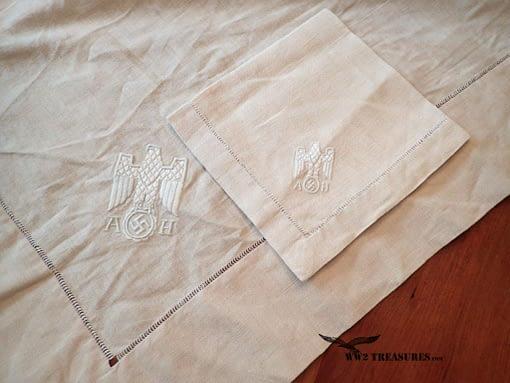 Adolf Hitler's tablecloth