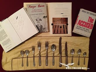 Adolf Hitler Silverware