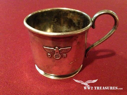 Reichsbahn Nazi Silverware