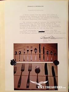 Adolf Hitler Silverware