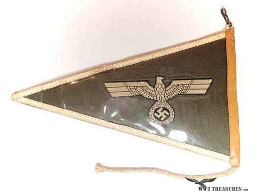 German Army Officers Pennant