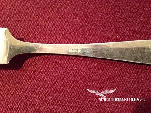 Adolf Hitler Silverware Cheese Knife